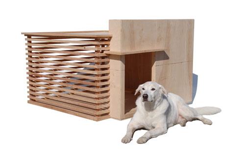 Des niches de luxe - Niche pour chien design ...