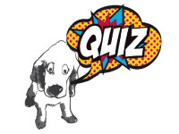 Quiz «WOUAF#1″ chien et BD